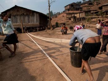 老挝的阿卡部落03