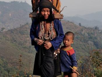 老挝的阿卡部落06