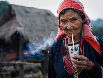 老挝的阿卡部落07