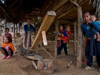 老挝的阿卡部落08