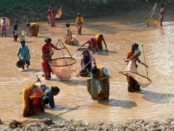 印度乡村妇女的劳作