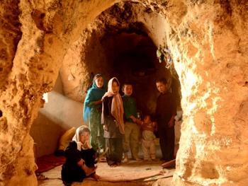 巴米扬洞穴社区生活03