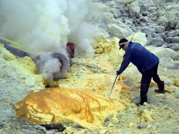 卡瓦伊真硫磺矿06