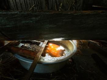 传统手工榨油8