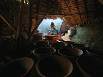 缅甸制陶12