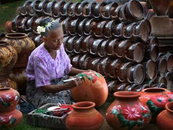缅甸制陶14