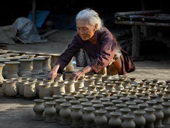 缅甸制陶09