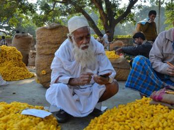 印度手工丝织业5