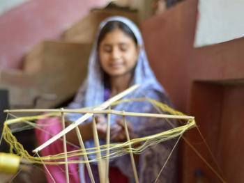 印度手工丝织业8