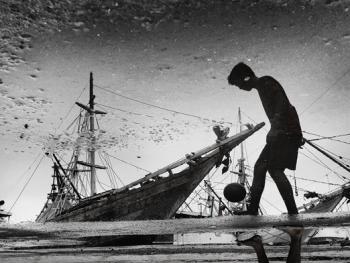 印尼造木船10