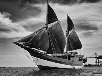 印尼造木船14