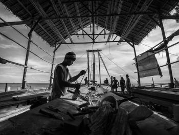 印尼造木船01