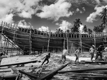 印尼造木船
