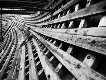 印尼造木船03