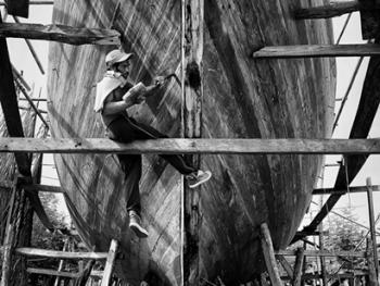 印尼造木船06