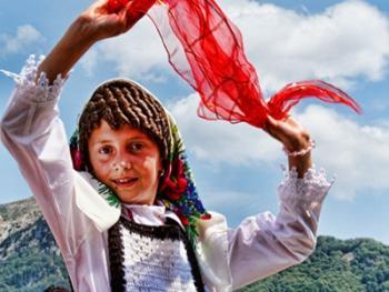 阿尔巴尼亚北部山区的节日06