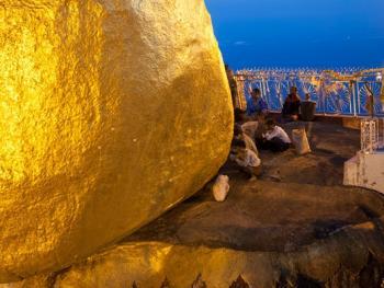 缅甸大金石崇拜