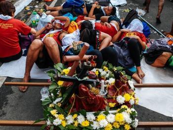 菲律宾黑色拿撒勒节13
