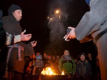 立陶宛春分火祭12