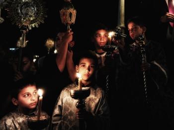 蒂诺斯岛耶稣受难日仪式01