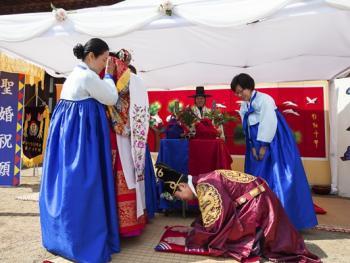 韩国传统婚礼11