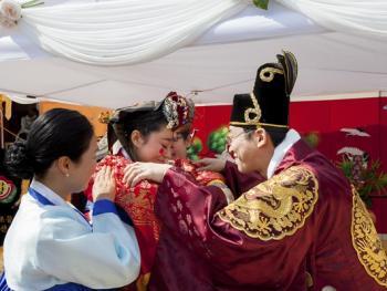 韩国传统婚礼12