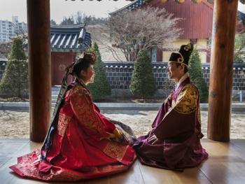 韩国传统婚礼01
