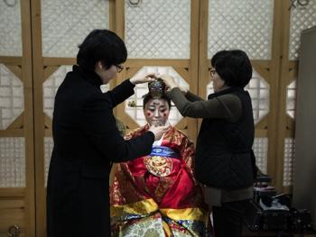 韩国传统婚礼02