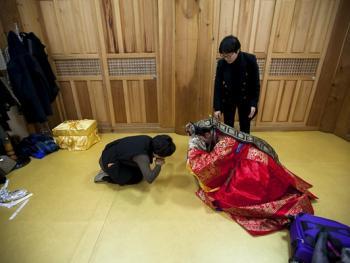 韩国传统婚礼03