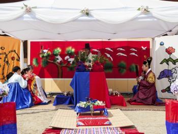 韩国传统婚礼08