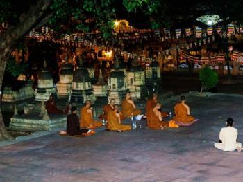 摩诃菩提寺之夜10