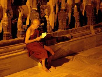 摩诃菩提寺之夜