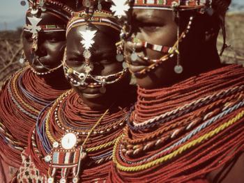 肯尼亚的马萨伊人和桑布鲁人11