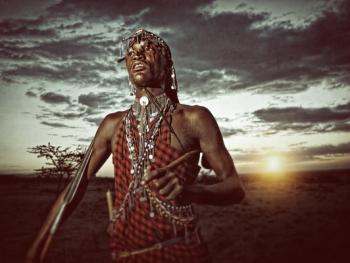 肯尼亚的马萨伊人和桑布鲁人