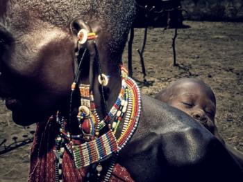 肯尼亚的马萨伊人和桑布鲁人02