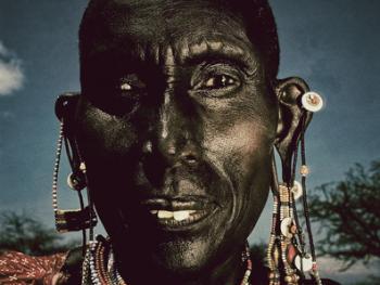 肯尼亚的马萨伊人和桑布鲁人03