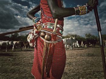 肯尼亚的马萨伊人和桑布鲁人06