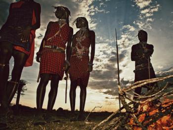 肯尼亚的马萨伊人和桑布鲁人07