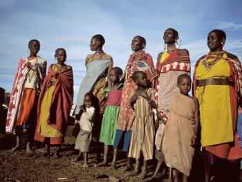 肯尼亚的马萨伊人和桑布鲁人08