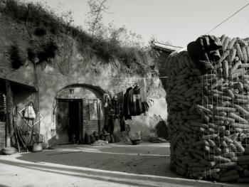 太行山里的纯生土窑10