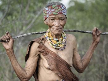 喀拉哈里沙漠的布须曼人12
