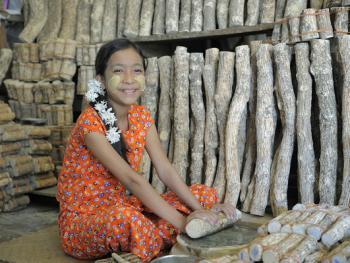 缅甸清凉涂面塔纳卡03