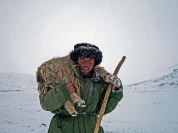 生活在红其拉甫的塔吉克人11