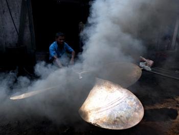 孟加拉黄铜螺旋桨的制造10