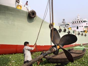 孟加拉黄铜螺旋桨的制造13