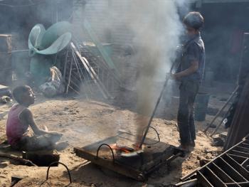 孟加拉黄铜螺旋桨的制造06