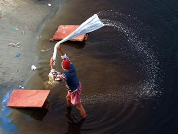 亚穆纳河畔的洗衣工4