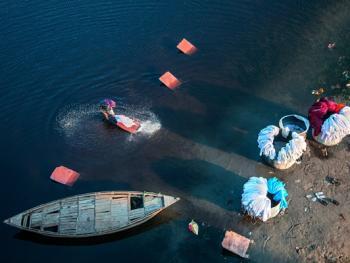 亚穆纳河畔的洗衣工5