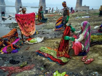 亚穆纳河畔的洗衣工7