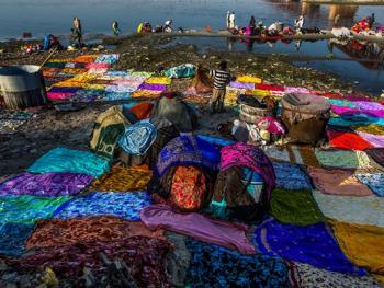 亚穆纳河畔的洗衣工9